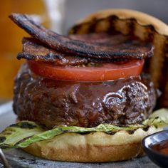 The Barbecue Burger