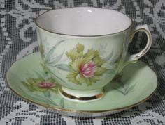 Colclough Tea Cup Bachelor's Button