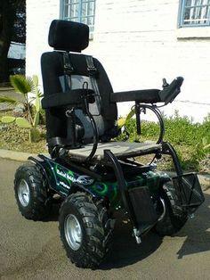 Predator 4 x 4 Power Wheelchair by Radical Mobility, via Flickr