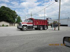 GMC Topkick dump truck