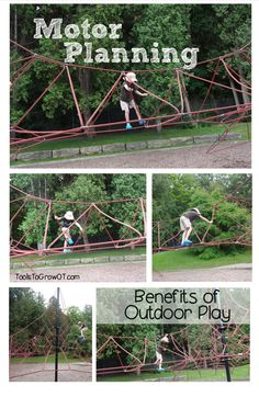 Motor Planning, Praxis, and Outdoor Play