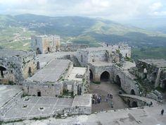 Il Castello dei Cavalieri, il Krak de Chevalier, chiamato anche Castello Alhsn