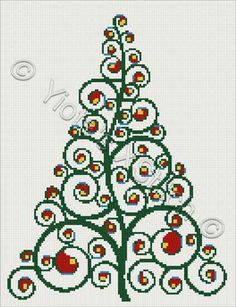 Christmas Tree Cross Stitch Patterns | Christmas tree