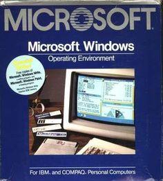 Windows Arrives November 10, 1983.