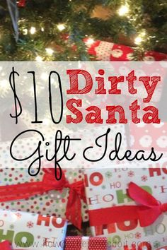 You've been invited to a Christmas party where there will be a Dirty Santa gift exchange and you're looking for the perfect gift. The MOST WANTED gift. The giftthat is stolen so many times that it is frozen. After all, that's what makes the Dirty Santa gift exchange so fun! $10 Dirty Santa Gift Ideas: […]