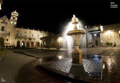 También de noche podrás disfrutar increíbles vistas de los edificios iluminados en el centro de #Morelia te esperamos!