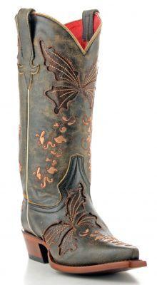 Womens Macie Bean Cracktacula Boots Black #M-8019 via @Allens Boots