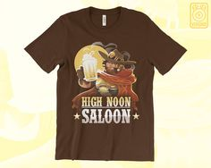 Its happy hour somewhere in the world... Overwatch t-shirt featuring the quick draw cowboy McCree!  ★ SHIRT SPECS ★ - Highest quality direct to garment printing for sharp, vibrant colors - Choose from Heavyweight or Ultra-soft Lightweight 100% cotton - Pre-shrunk to minimize shrinkage - Unisex and Ladies fits  Check the size chart in images above!  ★ SHIPPING ★ !!! NOTE !!! PLEASE SEE MY SHOP ANNOUNCEMENT FOR HOLIDAY SHIPPING TIMES & DEADLINES! All apparel are shipped with tracking! US…