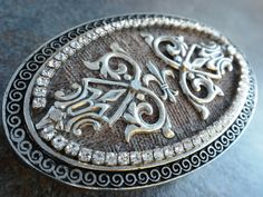 Your place to buy and sell all things handmade Decorative Borders, Brocade Fabric, Celtic Designs, Belts For Women, Belt Buckles, My Design, Gothic, Personalized Items, Stylish