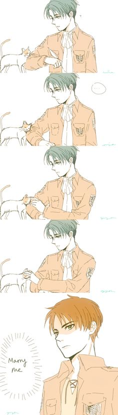 Eren & Levi | Shingeki no Kyojin || http://assbuttymilk.tumblr.com/post/75876526166 [please do not remove this caption with the source]