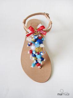 Sandals Hey Sailor. €43.00, via Etsy.