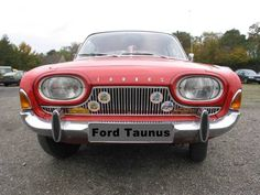 Ford Taunus 17M by Fine Cars, via Flickr