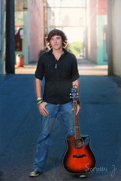 Senior photo idea -- with guitar