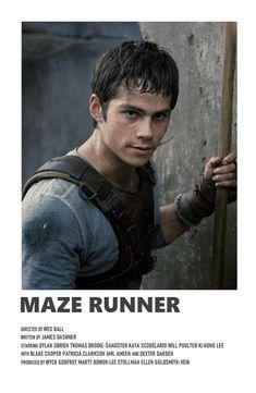 Iconic Movie Posters, Minimal Movie Posters, Iconic Movies, Film Posters, Film Polaroid, Image Cinema, The Maze Runner, Dylan O'brien Maze Runner, Maze Runner Movie