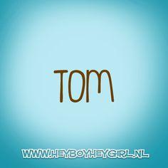 Tom (Voor meer inspiratie, en unieke geboortekaartjes kijk op www.heyboyheygirl.nl)