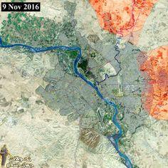 #Mosul Operation Map of military progress in Mosul city in northern & eastern axis HD:mediafire.com/convkey/9de0/x… @HKarimi1991 #MosulOp #موصل