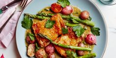 The rich and zesty pan sauce is what makes this simple, seasonal supper something you'll want to eat again and again.