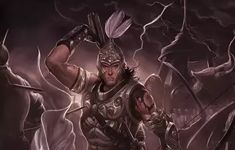According to Hindu mythology there are 5 classes of warrior excellence. Rathi: A warrior capable of attacking warriors simultaneously. Atirathi: A warrior capable of contending with 12 Rathi … The Mahabharata, Lord Vishnu Wallpapers, Great Warriors, Epic Art, History Teachers, Historical Quotes, Hindu Art, Indian Gods, Most Powerful