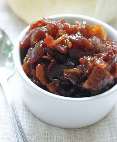 Bacon Jam  1 lb good-quality bacon  1 small onion, finely chopped  3-4 garlic cloves, chopped  1/2 cup packed brown sugar  1/2 cup coffee, cola or beer  1/4 cup maple syrup or honey