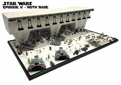 Scramble the Rebel fighters from LEGO Echo Base