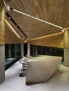 Vanke Triple V Gallery by Ministry of Design--Tianjin, China.