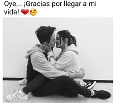 Oye… Gracias Por Llegar A Mi Vida   Hola XD Cute Couple Quotes, Cute Couple Pictures, Video Romance, Cute Couples Teenagers, Teen Poses, Cute Love Memes, Free Lesson Plans, Toddler Hair, Forever Love