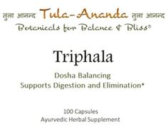 Triphala is a tri-doshic blend of three fruits that effectively, supports the digestive, circulatory and respiratory systems. This traditional Ayurvedic formula is designed to balance the GI tract through its gently cleansing, nourishing and rejuvenating actions. #balanceandbliss #ayurveda #triphala #digestion Ayurvedic Products, Au Natural, Respiratory System, Ayurveda, Herbalism, Traditional, Herbal Medicine