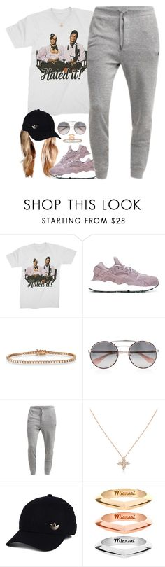 """""""Finally December!"""" by oh-aurora ❤ liked on Polyvore featuring NIKE, Allurez, Prada, adidas and MIANSAI"""