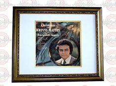 JOHNNY MATHIS Autographed Signed FRAMED LP Album PSA/DNA