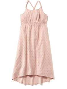 Hi-Lo Metallic-Thread Cami Dress for Girls