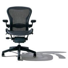 Famous for supporting the widest range of the human form, the Aeron office chair has been remastered to better meet the needs of today's work and workers. #AeronChair