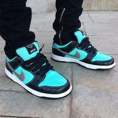 promo code d2e87 2b399 Diamond x Nike Dunk Low Pro SB