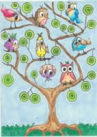 Whimsical Trees (by Miss M). ATCsforALL - Gallery