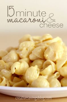 Stovetop mac and cheese is one of the easiest ways to recreate your favorite childhood comfort food. This recipe comes together in 15 minutes and uses just 4 ingredients, but tastes so much better than the boxed version. Your kids will love it!