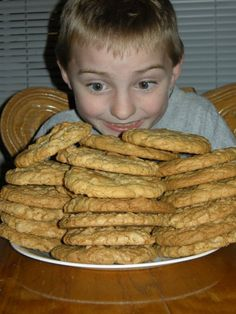 Dishpan Cookies, these are the ones I took with me to Paula Deen's house
