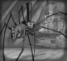 Tony DiTerlizzi. From the Spider and the Fly. Stunning illustrations