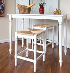 Emilia 3 Piece Counter Height Pub Table Set.