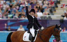Sophie Christiansen - Paralympics 2012: Sophie Christiansen adds final flourish…