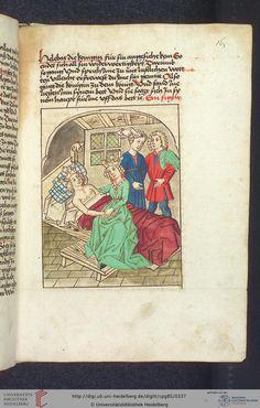 Cod. Pal. germ. 85  Antonius <von Pforr>  Buch der Beispiele — Schwaben, um 1480/1490