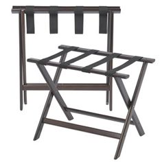 Hardwood Luggage Rack