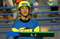 That time that A.J McLean from the Backstreet Boys was on GUTS.... this made my day!