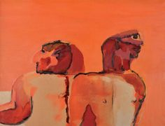 Robert Hodgins - Torsos with heads Art Thomas, South African Artists, Gallery, Life, Painting, Roof Rack, Painting Art, Paintings, Painted Canvas
