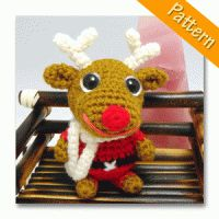 dodo amigurumi reindeer pattern