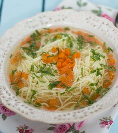 Rosol z wolnowara Japchae, Slow Cooker Recipes, Thai Red Curry, Crockpot, Dinner, Ethnic Recipes, Kitchen, Lunch Ideas, Food