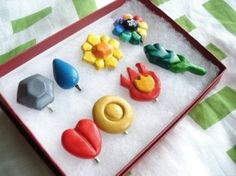 I just bought some polymer clay! Excited to make some geeky pins!