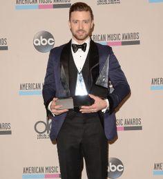 Justin Timberlake'in ödül şıklığı