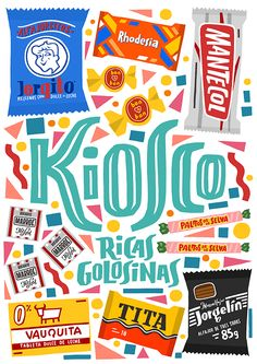 """Kiosco"" by Lawerta.  Inspired by Buenos Aires Kisocs"