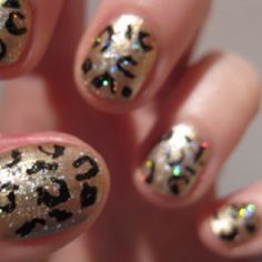 leapord  nails