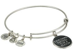 Alex and Ani Everything Happens for a Reason Charm Bangle Rafaelian Silver Finish - Zappos.com Free Shipping BOTH Ways