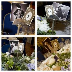 marcadores de mesa con imágenes de mujeres icono